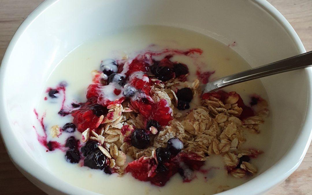 Hjemmelaget Yoghurt og tjukkmjølk